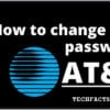 Solved: How To Change your AT&T WiFi Password [Guide]