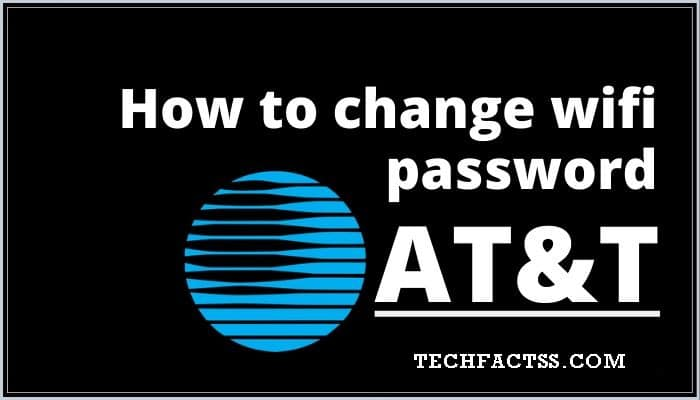 AT&T WiFi Password