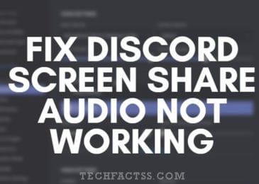 Discord Screen Share Audio Not Working Error Fixed【100% Working】