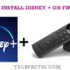How to Install Disney Plus Firestick in 5 Minutes【Updated 2021】