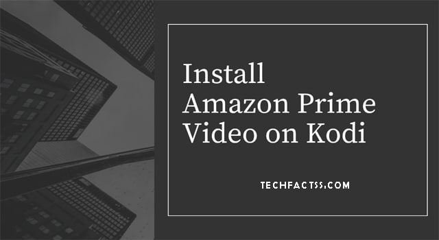 amazon prime on kodi