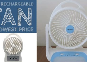 10 Best Rechargeable Fans in India – New List 2021