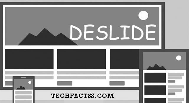 remove slideshow from website deslide