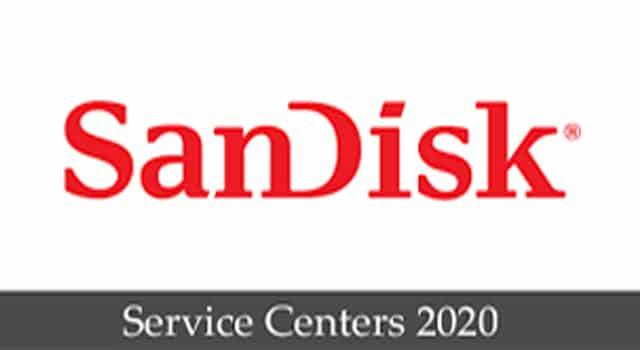 sandisk service center