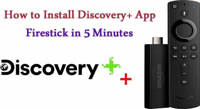 Discovery+ app on firestick