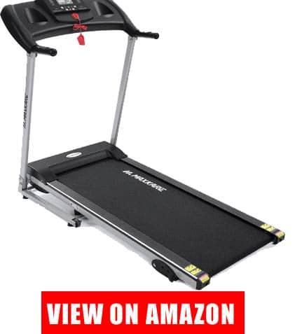 MaxKare Electric Treadmill Foldable