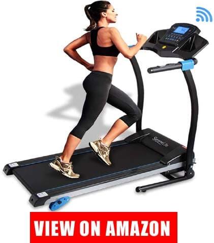 SereneLife Smart Digital Folding Treadmill