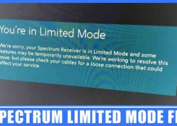 Spectrum Limited Mode Fix | How to Reboot Spectrum Cable Box